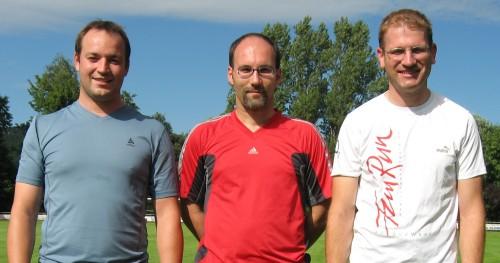LSN-Team: Reinhard Riedl, Robert Leyerer und Thomas Hölzl